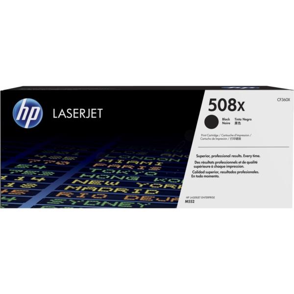 HP CF360X (508X) Toner black, 12.5K pages