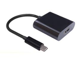 Microconnect 0.2m USB С - HDMI USB graphics adapter Black