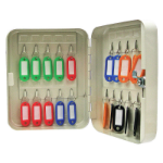 Cathedral Products Value Key Cabinet Steel GY Lock and Wall Fixings 20 Keys