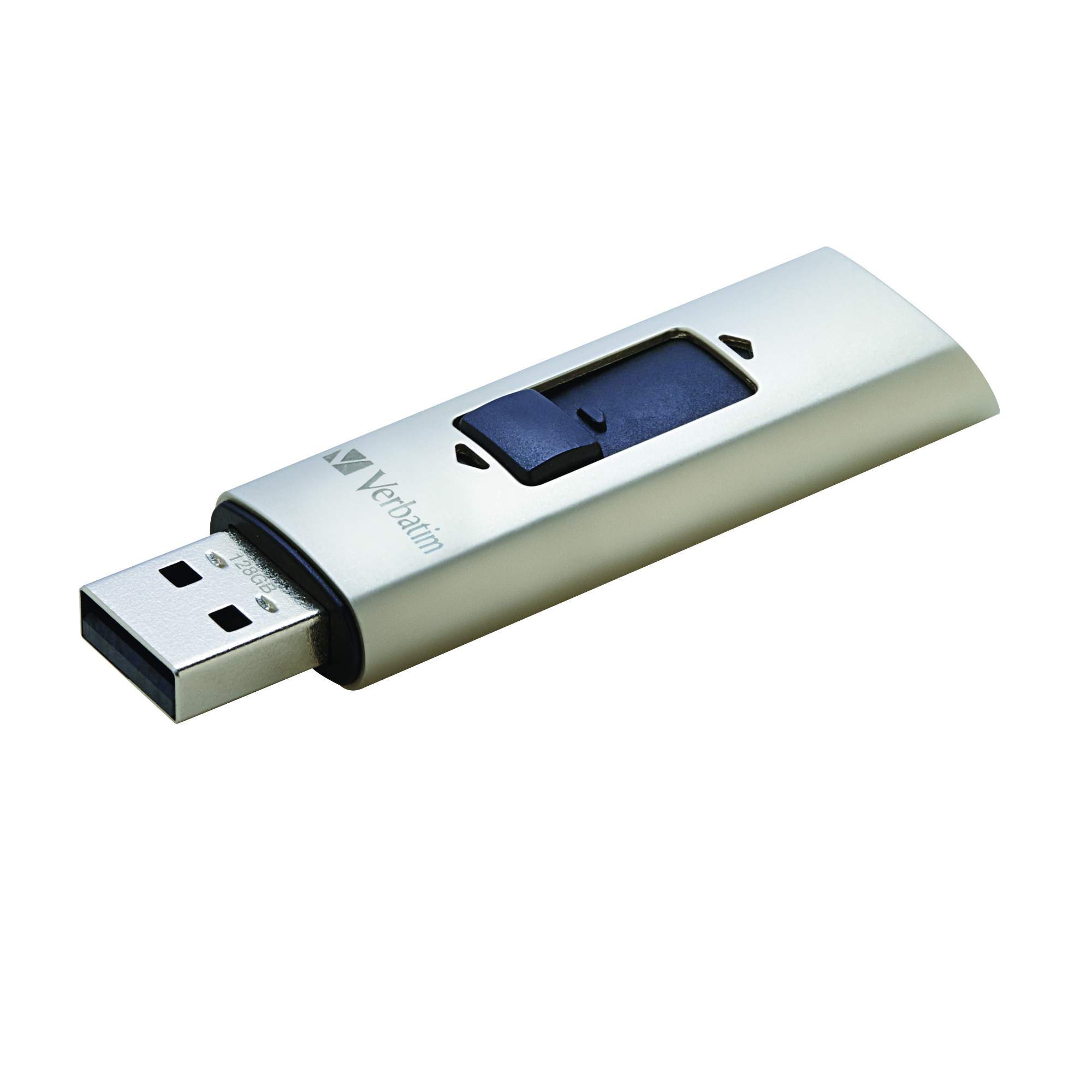 Verbatim Vx400 128GB USB 3.0 (3.1 Gen 1) Type-A Silver USB flash drive