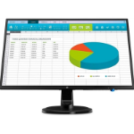 "HP N246v LED display 60.5 cm (23.8"") Full HD Flat Black"