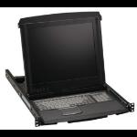 "Black Box KVT517A-8PV rack console 43.2 cm (17"") 1280 x 1024 pixels 1U"