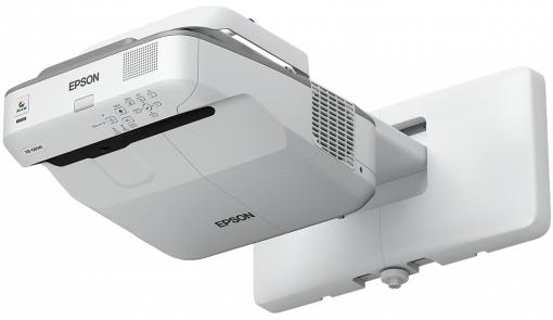 Epson EB-685W data projector 3500 ANSI lumens 3LCD WXGA (1280x800) Wall-mounted projector Grey,White