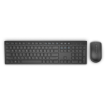 DELL KM636 RF Wireless QWERTY English Black