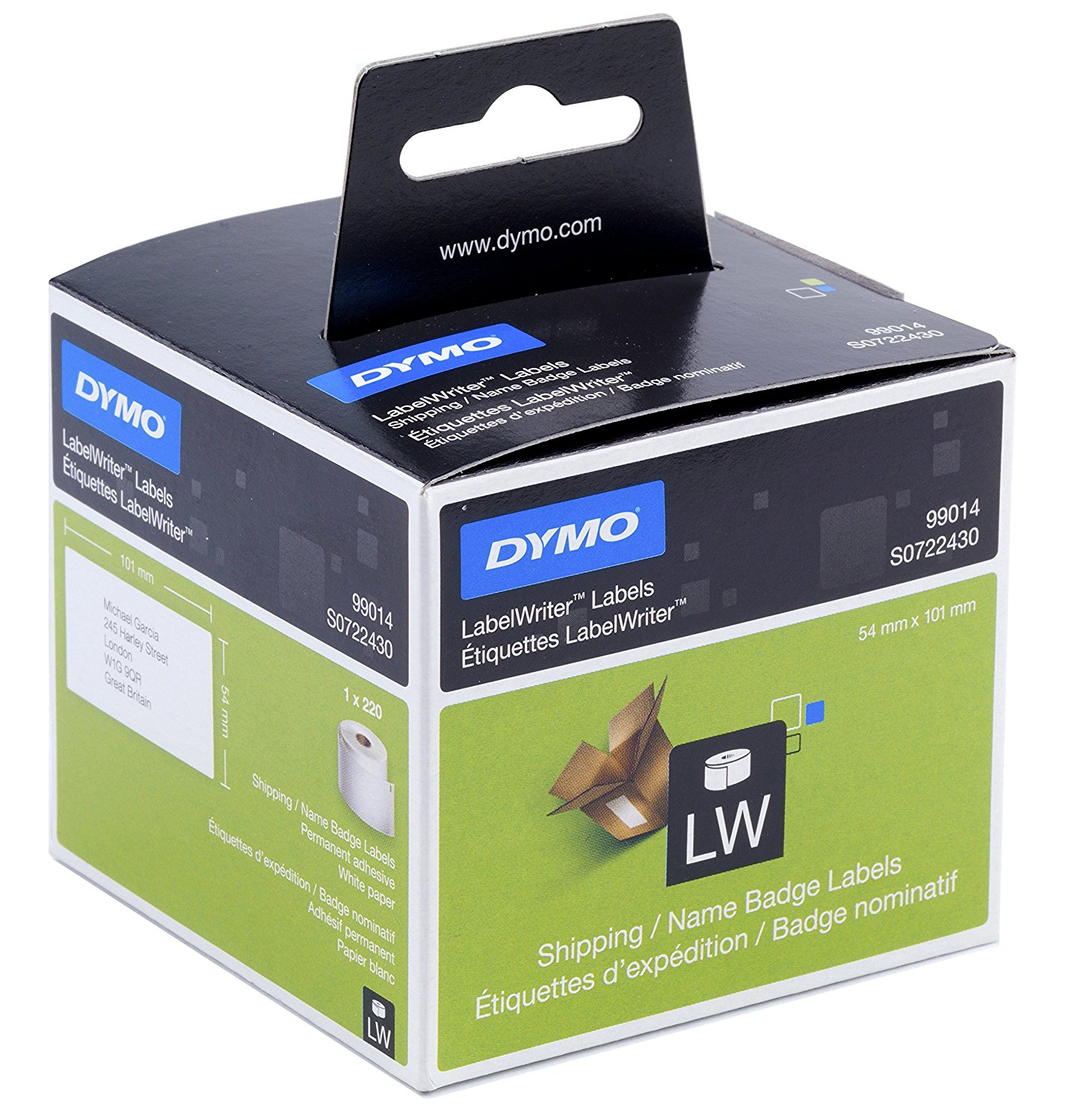 DYMO Shipping/Name badge Labels