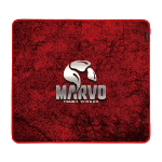 Marvo G39 mouse pad Gaming mouse pad Black, Grey, Red