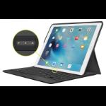 Logitech CREATE Smart Connector QZERTY Italian Black mobile device keyboard