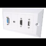 CONNEkT Gear 20-1150 socket-outlet White