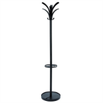 ALBA BRIO COAT RACK 175 X 35 X 35CM BLACK