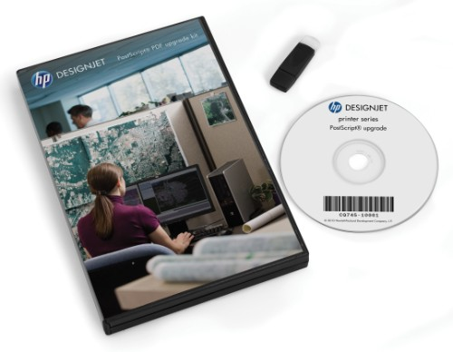 HP DesignJet PostScript/PDF Upgrade Kit
