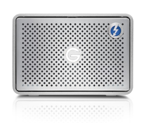 G-Technology G-RAID Thunderbolt 3 disk array 12 TB Silver