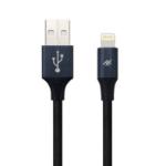 ifrogz Uniquesync Premium 1.5m USB A Lightning Zwart mobiele telefoonkabel