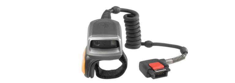 Wearable Barcode Scanner Rs5000 Cable Connectivity 1d/2d Imager