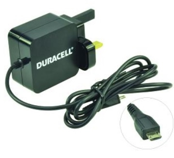 Duracell DMAC10-UK Indoor Black mobile device charger