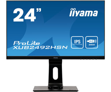 "iiyama ProLite XUB2492HSN-B1 pantalla para PC 60,5 cm (23.8"") 1920 x 1080 Pixeles Full HD LED Negro"