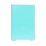 Cooler Master MasterBox NR200P Small Form Factor (SFF) Cyan, White