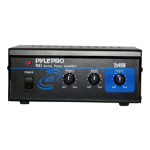 Pyle PCA2 audio amplifier 2.0 channels home Black