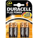 Duracell Plus Power AA Alkaline 1.5V non-rechargeable battery