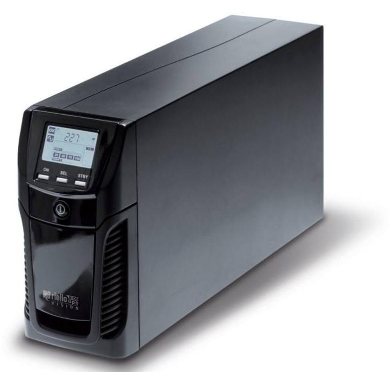 Riello Vision 2000 sistema de alimentación ininterrumpida (UPS) 2000 VA 6 salidas AC