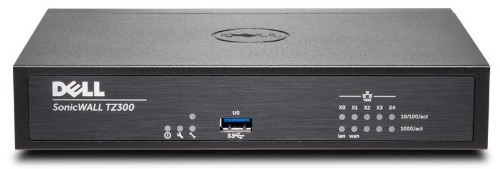 SonicWall TZ300 + TotalSecure 1Y hardware firewall 750 Mbit/s