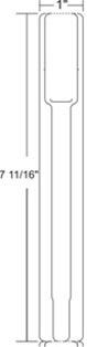 Zebra 10007746K White Adhesive printer label