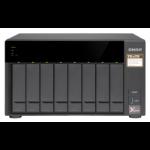 QNAP TS-873-4G 48TB 8x6TB Seagate Exos 8 Bay NAS Desktop Tower Ethernet LAN Black