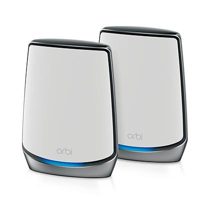 Netgear Orbi AX6000 router inalámbrico Tribanda (2,4 GHz/5 GHz/5 GHz) Gigabit Ethernet Blanco