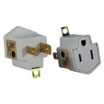QVS PA-2PK power plug adapter