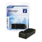 Innovation IT 2A 324064 DISPLAY video cable adapter DisplayPort HDMI Black,Gold