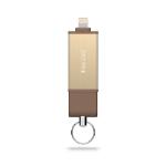 Adam Elements iKlips DUO 128GB USB 3.0 (3.1 Gen 1) Type-A Gold USB flash drive