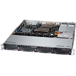 Supermicro SC813MFTQ-R400CB Rack Black 400 W