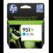 HP Cartucho de tinta original 951XL de alta capacidad cian
