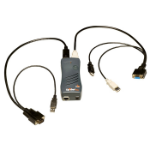Lantronix SecureLinx SpiderDuo KVM-switch Zwart
