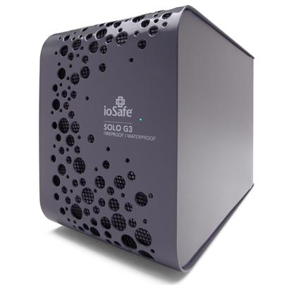 ioSafe SOLO G3 3TB external hard drive 3000 GB Black