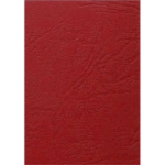PHE GOLD SOVEREIGN A4 LEATHERGRAIN BOARD COVERS 250GSM RED BOX 100
