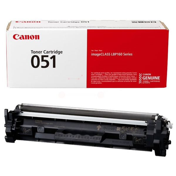 CANON 2168C002 (051) TONER BLACK, 1.7K PAGES