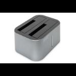 Digitus DA-71540-1 basisstation voor opslagstations USB 3.2 Gen 1 (3.1 Gen 1) Type-B Zwart, Zilver