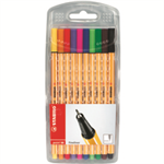 Stabilo Point 88 Multi 10pc(s) fineliner
