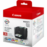 Canon 9254B004 (PGI-2500 XLBKCMY) Ink cartridge multi pack, 70,9ml + 3x19,3ml, Pack qty 4