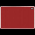 Nobo Classic Felt Noticeboard Red 900x600mm