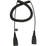 Jabra 8730-009 audio cable 0.5 m QD Black