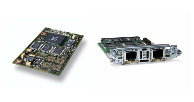 Cisco VWIC2-1MFT-T1/E1 voice network module