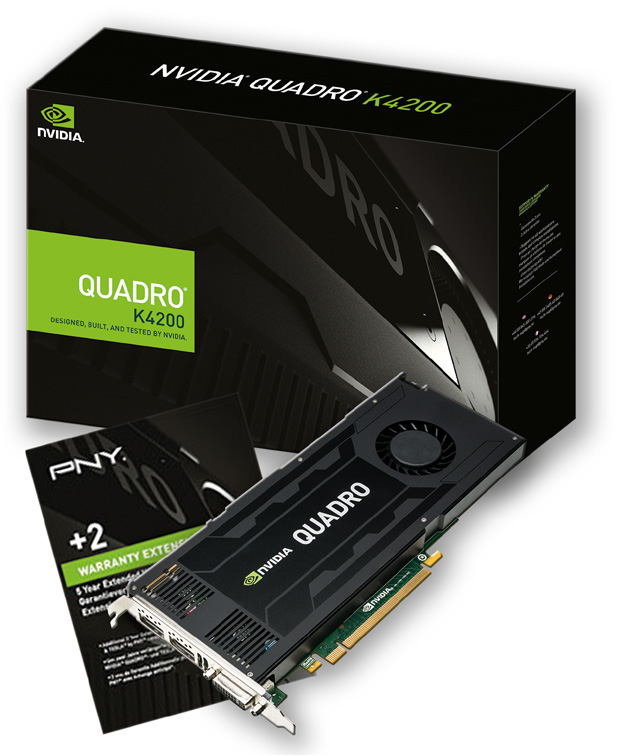 PNY NVIDIA Quadro K4200 NVIDIA Quadro K4200 4GB