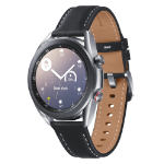 "Samsung Galaxy Watch3 SAMOLED 3.05 cm (1.2"") Silver GPS (satellite)"