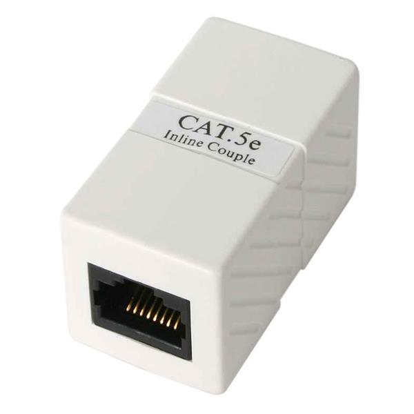 StarTech.com Caja de Empalme Acoplador Cable Cat5 Ethernet UTP - 2x Hembra RJ45 - Blanco