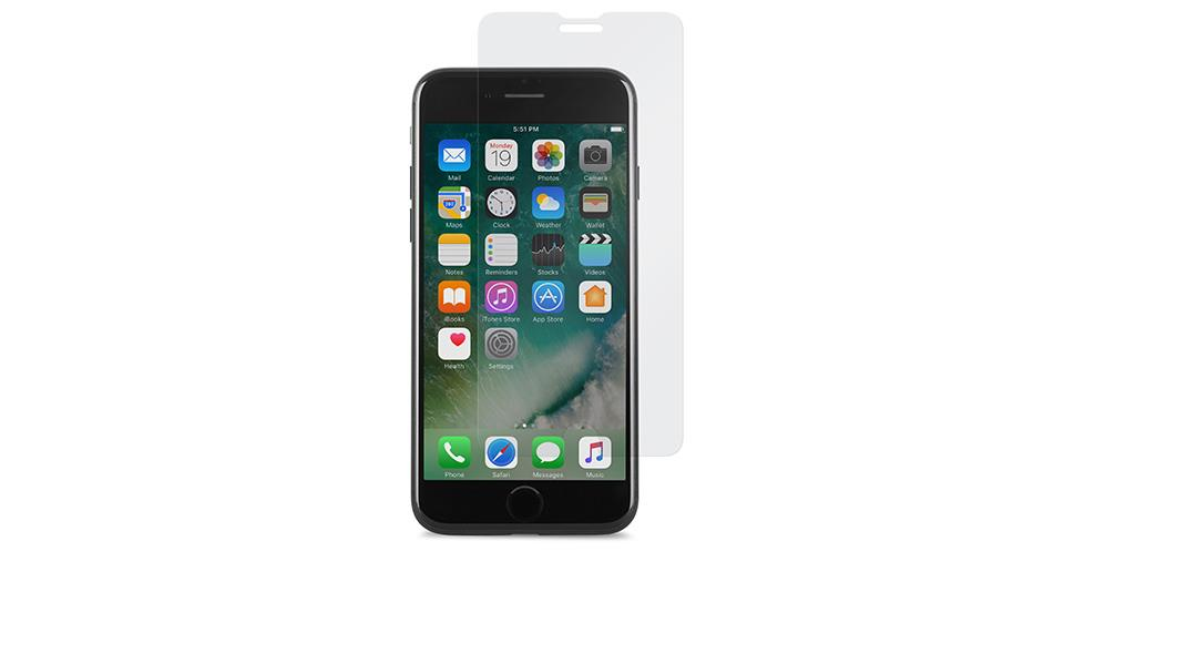 Moshi AirFoil Clear screen protector iPhone 6, iPhone 6s, iPhone 7 1 pc(s)