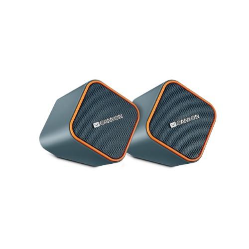 Canyon CNS-CSP203O loudspeaker 1-way 5 W Black,Grey,Orange Wired