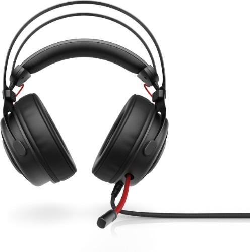 HP Omen 800 Headset Head-band Black,Red