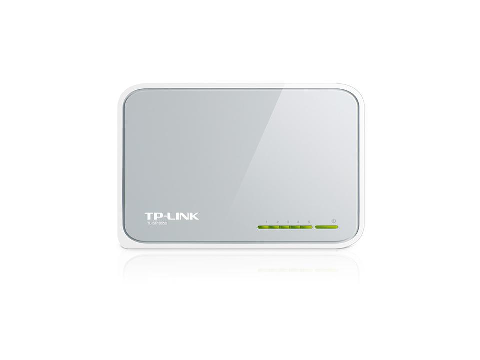 TP-LINK 5-Port 10/100Mbps Desktop Switch