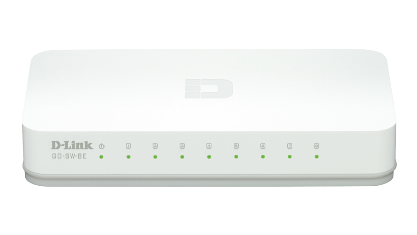 D-Link GO-SW-8E/E Unmanaged Fast Ethernet (10/100) White network switch